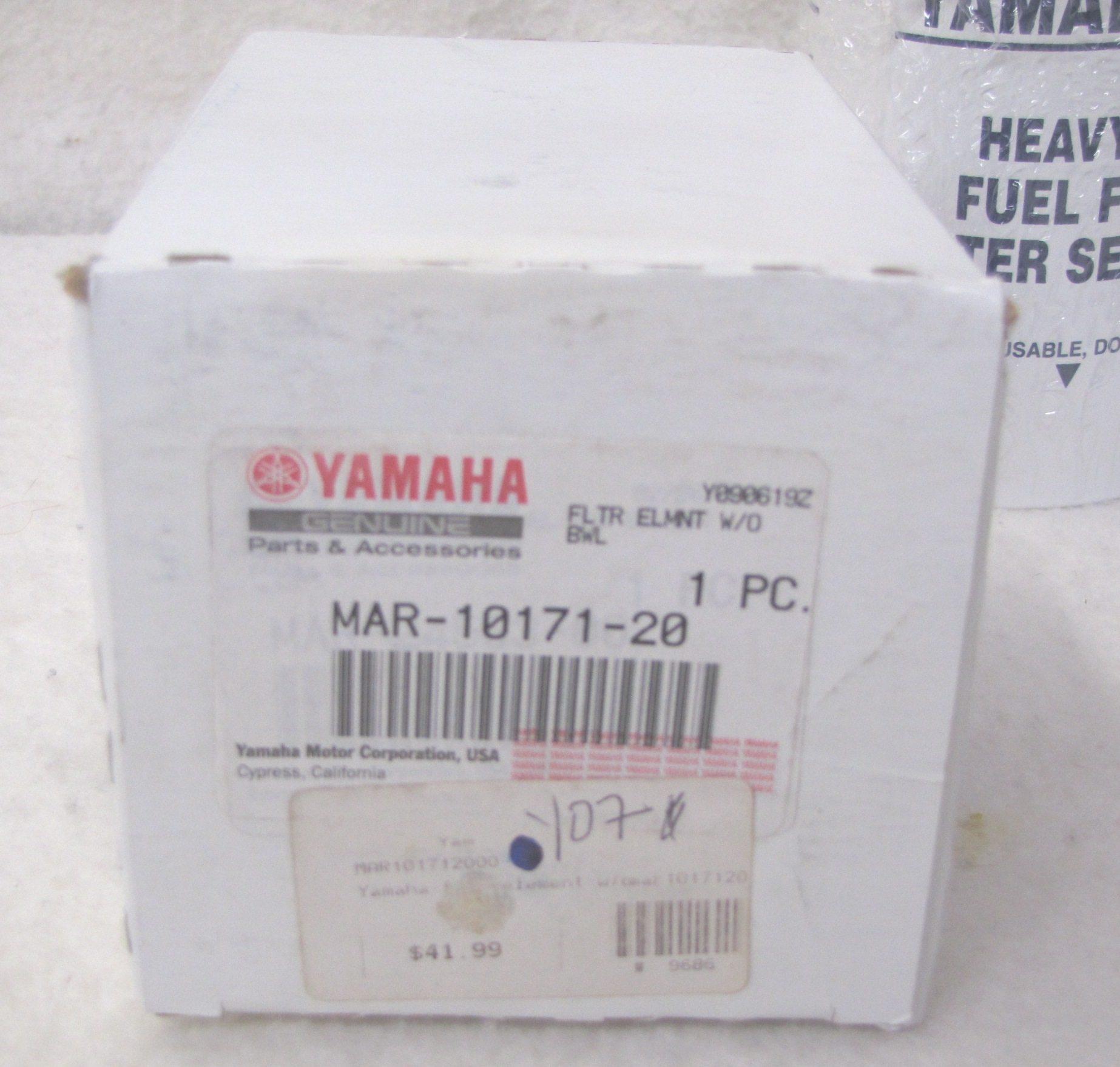 Yamaha Outboard Heavy Duty Fuel Filter Element Mar 10171 20 00