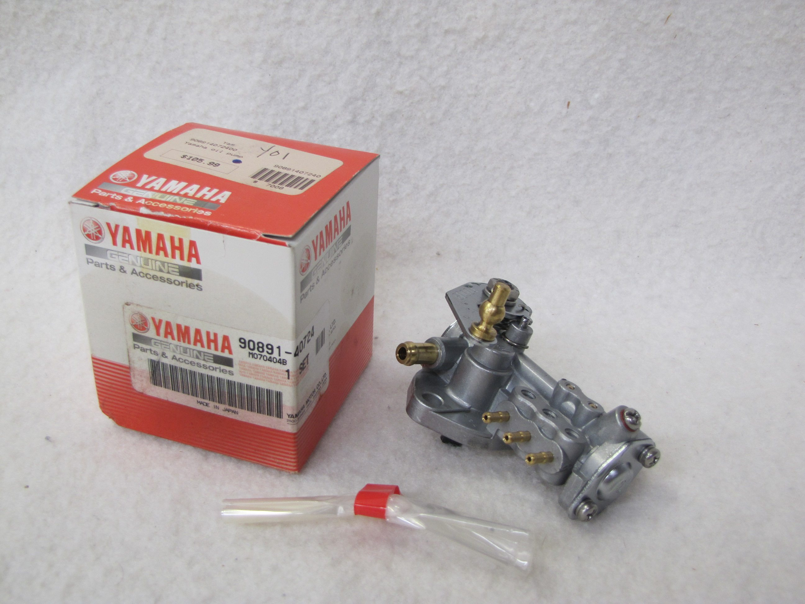 Yamaha Outboard Engine Parts Express Marine Fuel Filter Genuine Oil Injection Pump 90891 40724 00