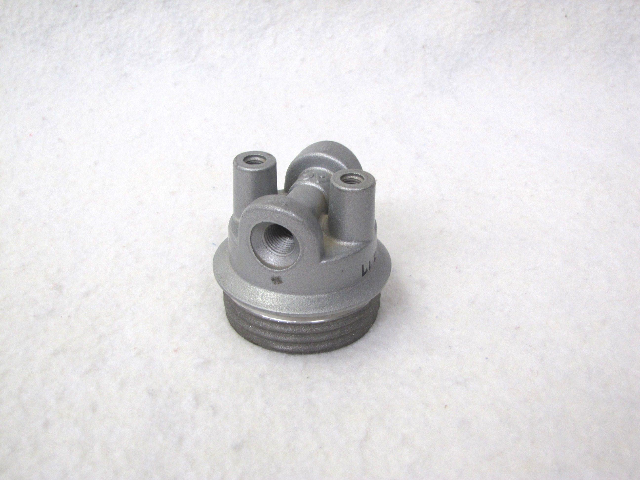 Omc  Johnson  Evinrude Fuel Filter Head 0123217