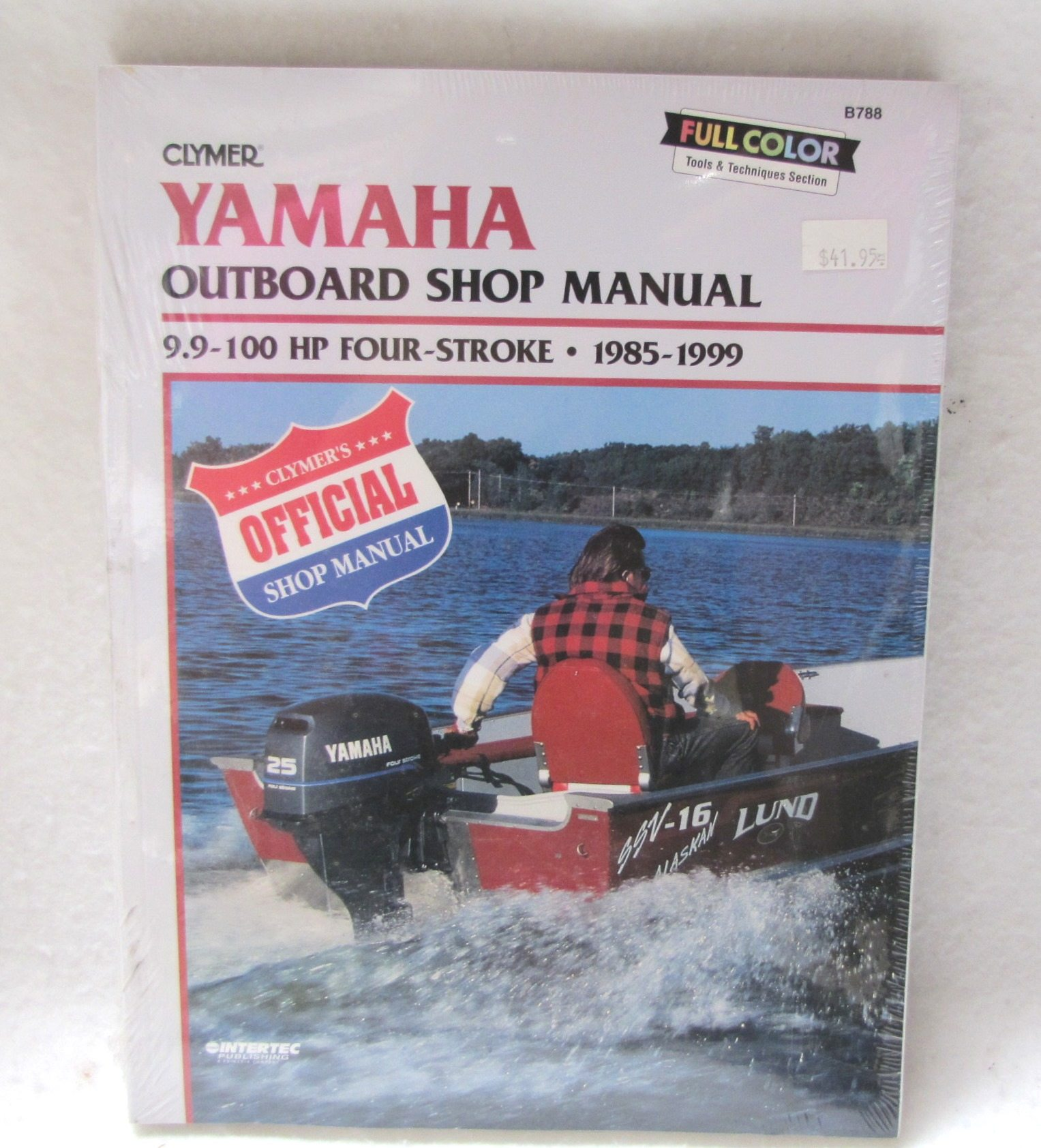 Clymer repair manual yamaha 9 9 100hp 4 stroke outboards for Yamaha 9 9 hp outboard motor manual