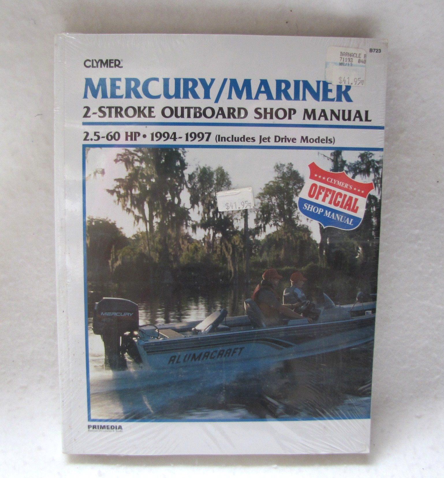 repair manual mercury outboard free