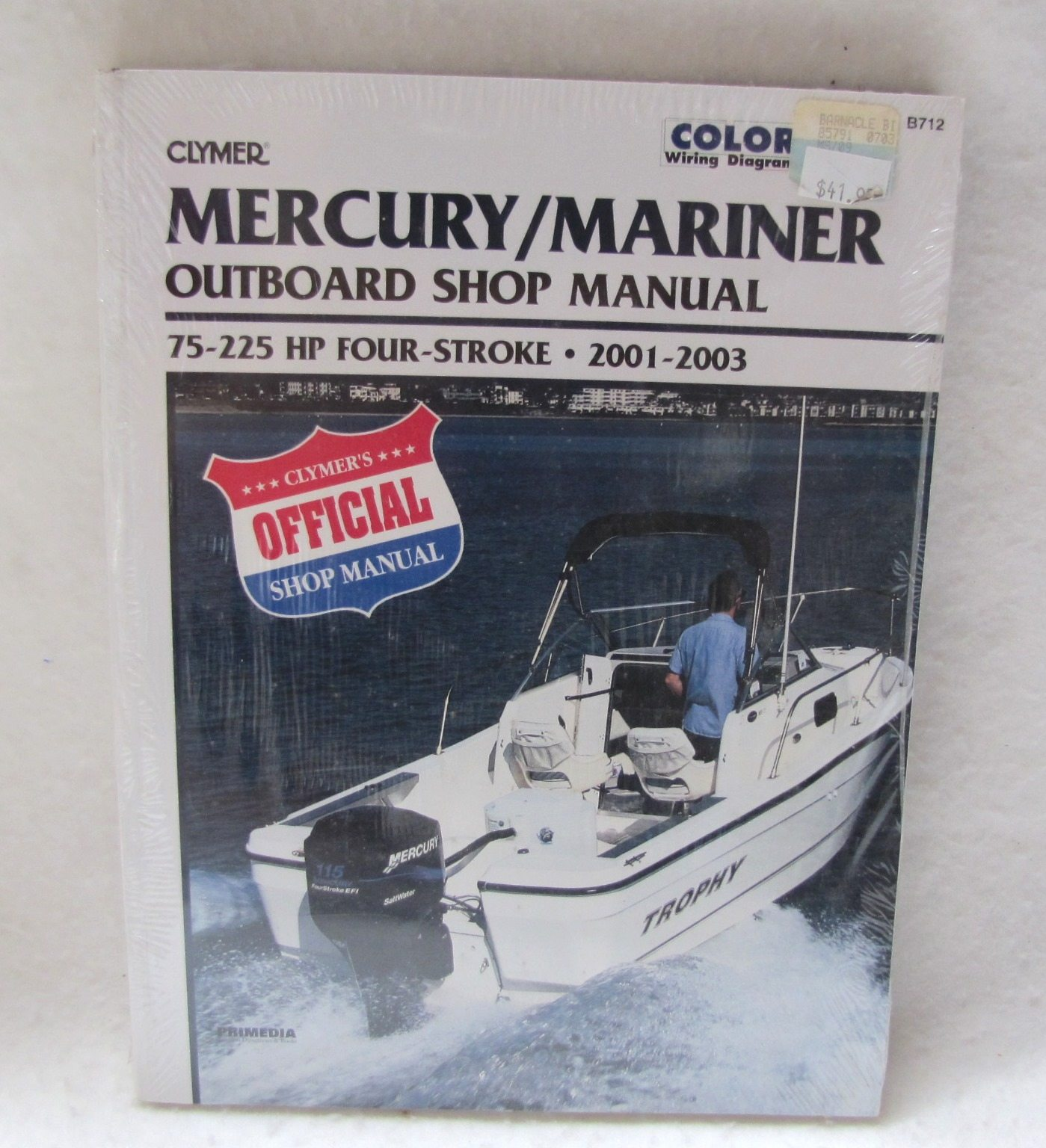 Mercury 225xl Service manual