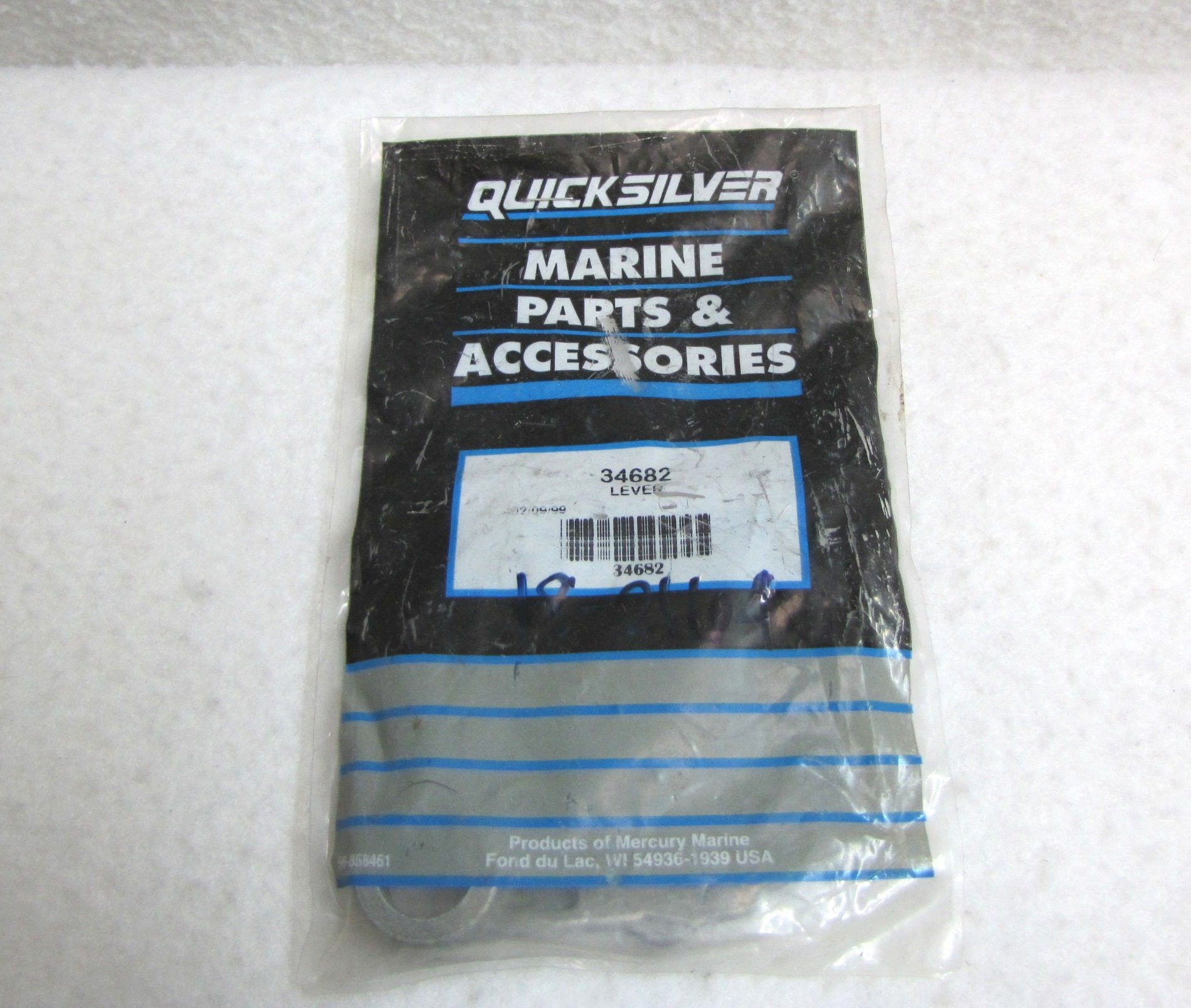 mercury mariner outboard engine parts express marine mariner boat motor quicksilver mariner shift lever control hsg 34682