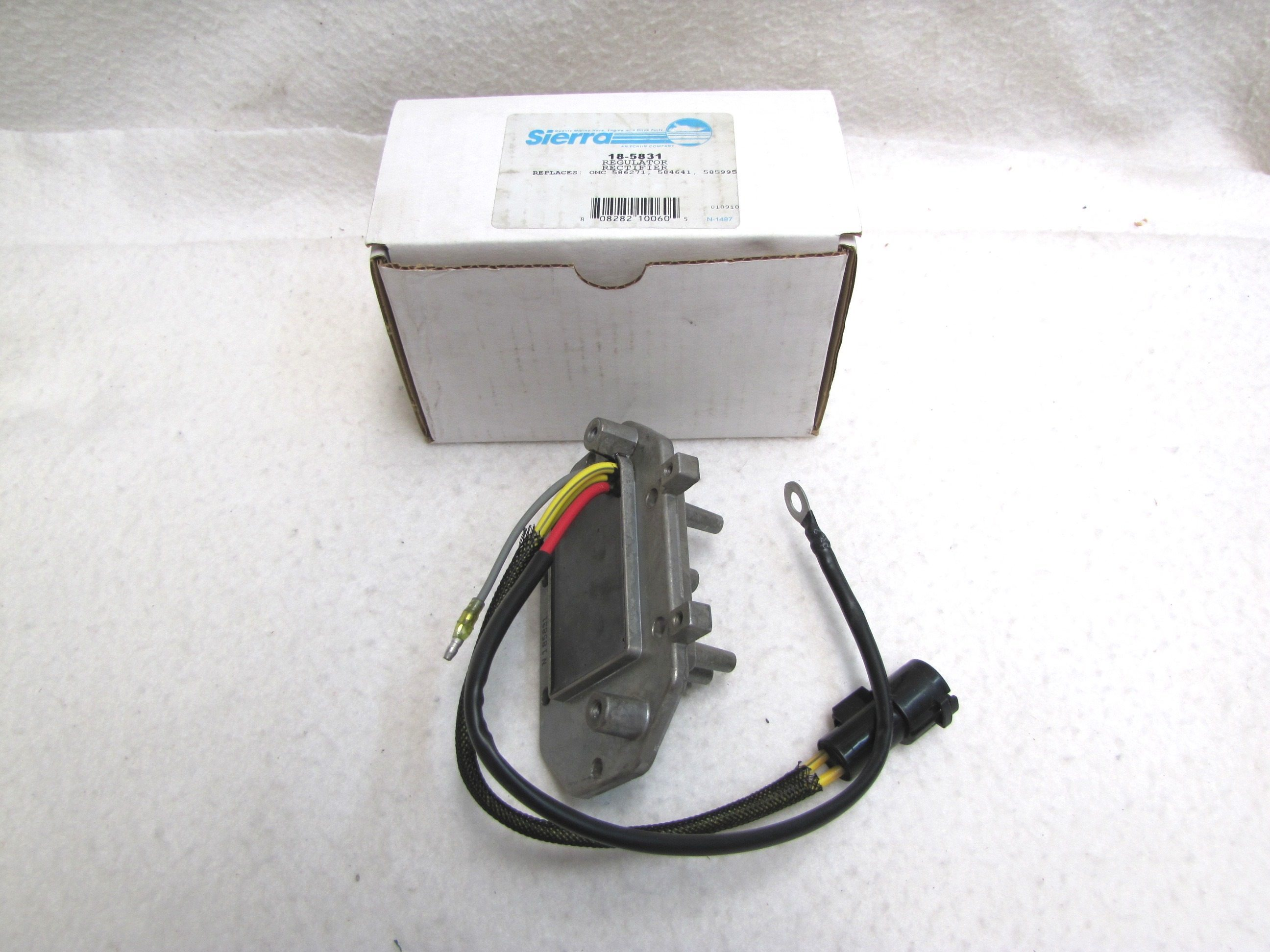 Other In-Car Technology Sierra  Voltage Regulator/Rectifier 18-5825 Vehicle Parts & Accessories