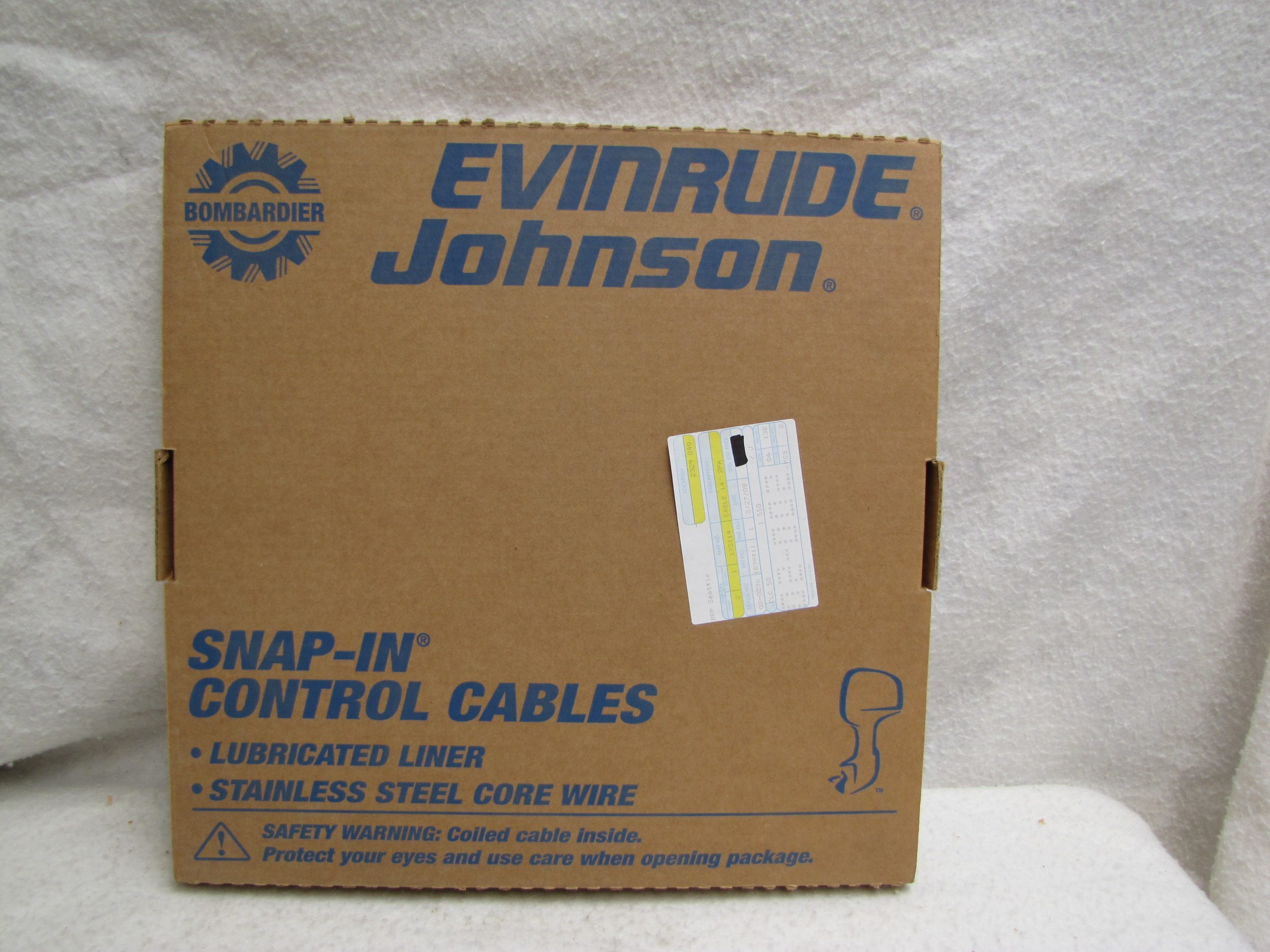 Omc Johnson Evinrude Snap In Control Cable 1979 Amp Up 14ft