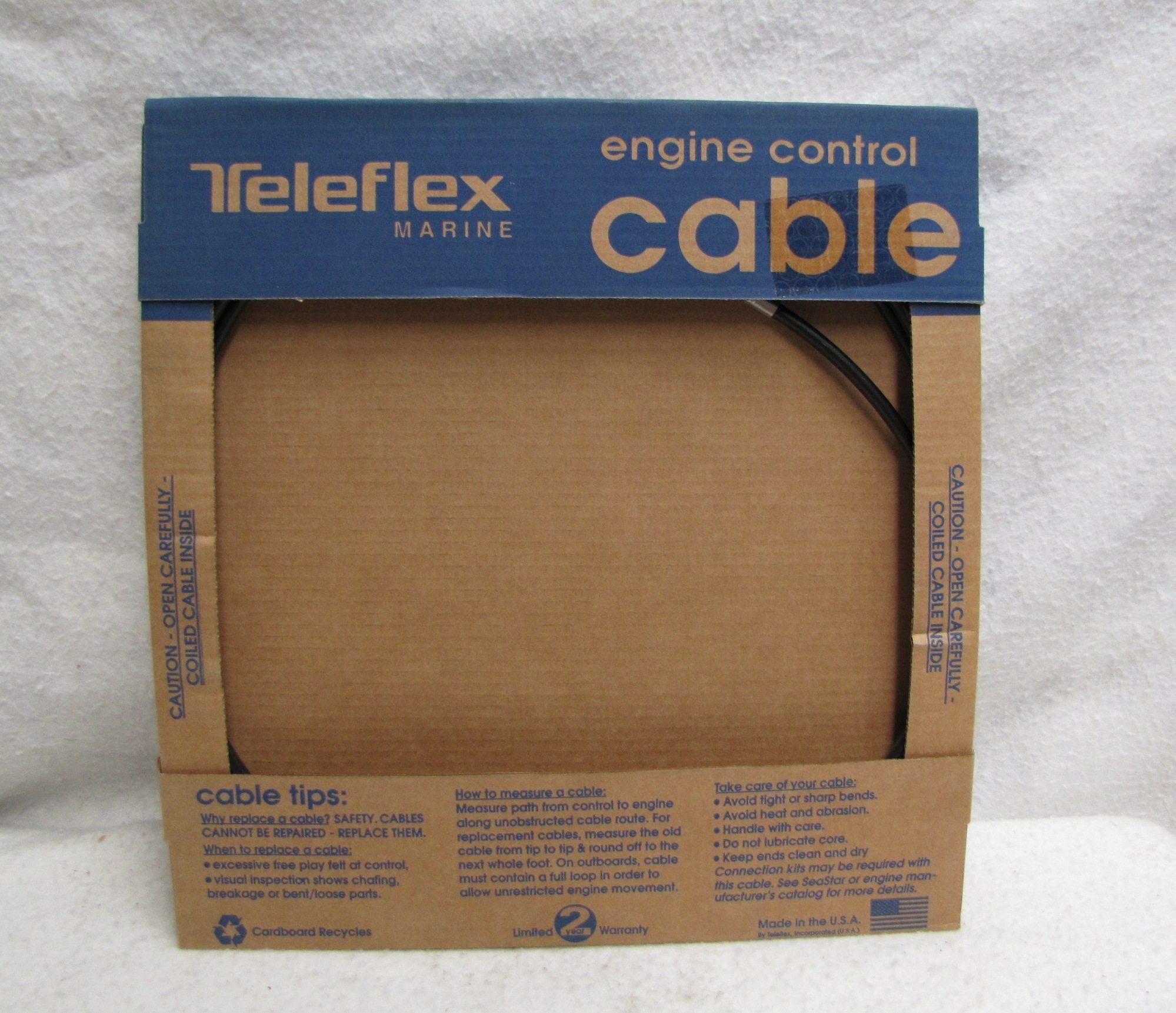 Teleflex Extreme 33c Control Cable Ccx63312 12ft Express