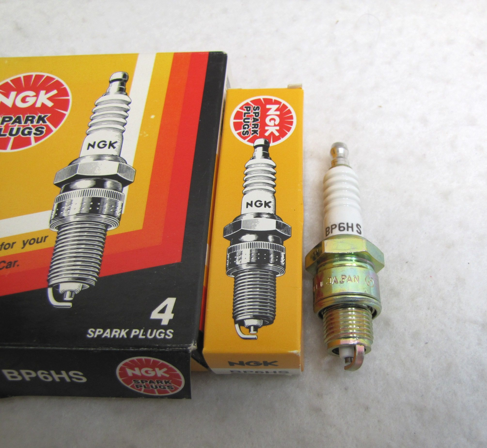 New Ngk Plug 7331 4 Ngk Spark Plugs Bp6hs