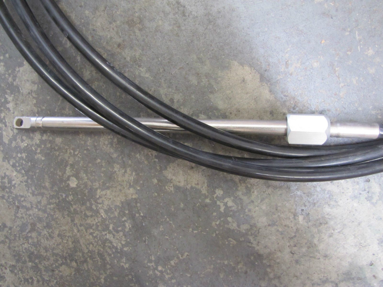 New Morse Steering Cable M0963 Amrc 24ft Express Marine